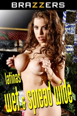Latinas Wet and Spread Wide